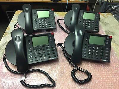 4 x Shoretel IP 230 VoIP Telephone Nice Lot Of 4 Complete Tested !