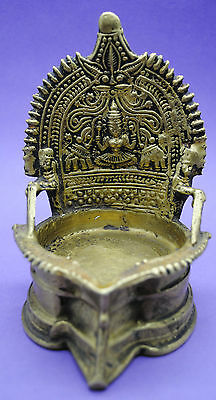 Impressive near Eastern brass decorated incense burner 17th-18th century AD