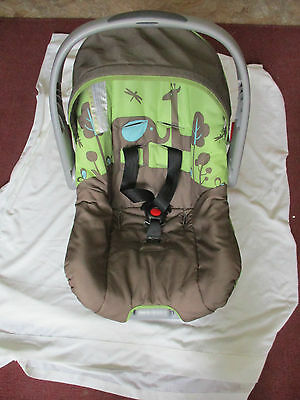 Evenflo Discovery/nurture Infant Car Seat Complete With Base