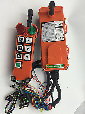 F21-E2 6 Buttons 1 Speed Hoist Crane Remote Control Wireless Radio UTING Control