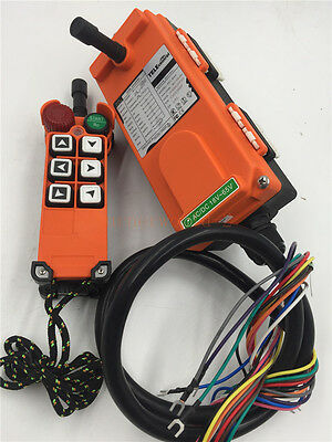 UTING F21-E1 6 Buttons 1 Speed Hoist Crane Remote Control Wireless Radio Control