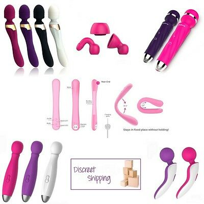 Magic Wand Massager 5 Styles Waterproof USB Rechargeable Colour Choice Available