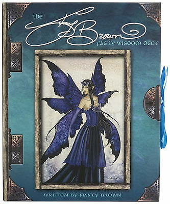 Out of Print Amy Brown Faery Wisdom Tarot Deck w/ Instruction Booklet Brand New