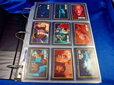 Star Trek 25th Anniv. 1-309 Master Series 1993 1-90 1994 1-100 Over 850 Cards