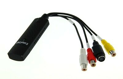 CAPTURADORA VIDEO EASY CAP USB compatible windows XP/VISTA/7/8