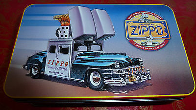 Zippo Car Collectible Of The Year  Zippo Lighter Mint In Tin 1998
