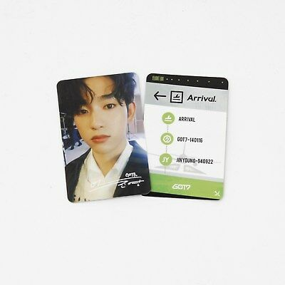 [GOT7]Jinyoung Official Photocard/Never Ever/Making Version