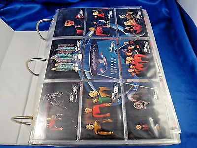 Star Trek The Next Generation Season 1-2-3-4-5-6 Full Sets 1-636 Over 1300 Cards