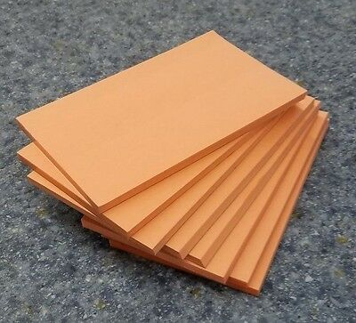 """8 Pads of 40 sheets 3 x 5"""" Salmon Color Scratch / Note Pads"""