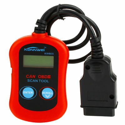 OBD2 OBDII Scanner Car Code Reader Data Tester Scan Diagnostic Tool KW805