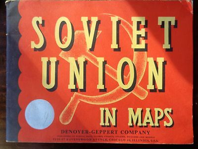 Denoyer-Geppert Soviet Union in Maps 1954