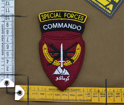 "Ricamata / Embroidered Patch Afghan ""Commando SF"" with VELCRO® brand hook"