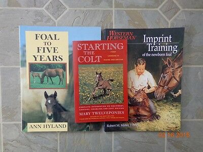 Foaling Books - Lot of 3