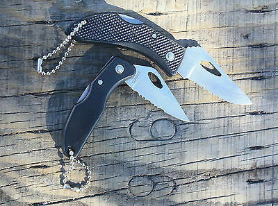 NEW OLD STOCK 2-Knife Lot    1 FROST CUTLERY & 1 UNBRANDED    Plus FREE GIFT!!!