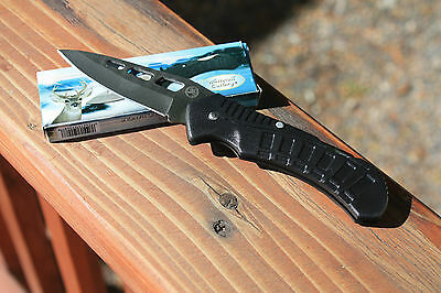 """NEW OLD STOCK 7-1/2"""" LOCKBACK Pocket Knife by WHITETAIL CUTLERY in Mint Cond."""
