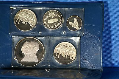 1971 Empire of ? Silver 5 Coin Proof Set