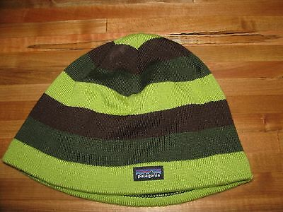 Patagonia Boys Striped Hat Size S