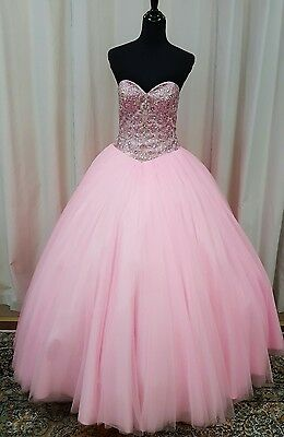 f20a327de49 NEW Beloving by Mary s XV Sweet 16 Quinceanera Dress 4627 Powder Pink Size  10