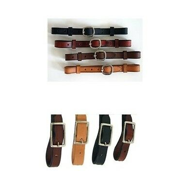 Western Chin strap leather for Headpiece Snaffle Western riding various Colours
