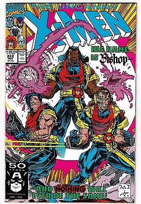 UNCANNY X-MEN #282 NM- 1st BISHOP Appearance! John Byrne! Whilce Portacio! 1991