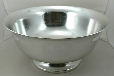 LARGE Wear-Ever Model 5236 Aluminum Serving Bowl on Pedestal, 15.5 X 7.5 Inches