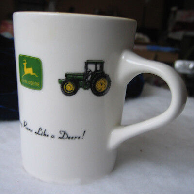 John Deere Mug - Nothing Runs Like A Deere Coffee Mug / Gibson