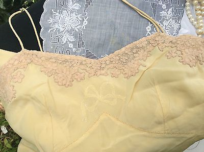 Antique Vintage Silk Lingerie Teddy/ Teddies - Hand Worked Trousseau - C1920's