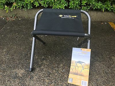 New - 2 x Oz Trail steel compact fishing stool, camping chair