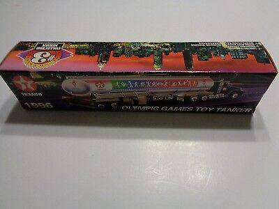 Texaco Olympic Games Toy Tanker 1996 Collector's Series #3 In Sealed Box