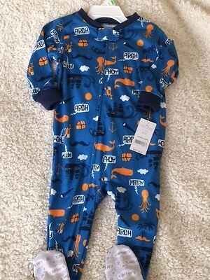 NWT Carter's boys footed sleeper - szie 18 months