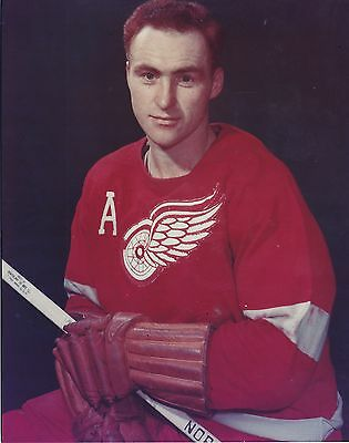 "8""X10"" photo Red Kelly Detroit Red Wings NHL"