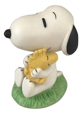 """Snoopy and Woodstock Peanuts Westland Figurine Charlie Brown Approx 3"""" Tall"""