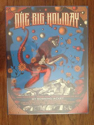 My Morning Jacket Mexico 2017 Art Print Poster Status Serigraph Signed AE