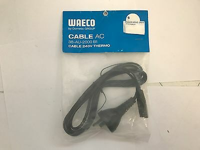 Waeco camping fridge freezer 240v AC power lead cable 38-AU-2000 B1 - New