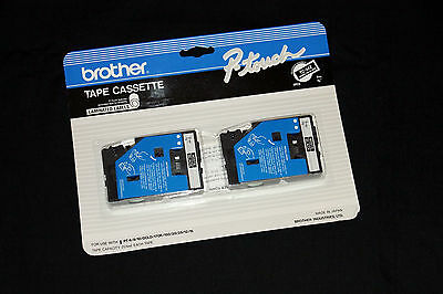 Brother P-Touch Tape Cassette 2-pack TC-34Z for PT-6/8/10/GOLD/170K/20/25/12/15