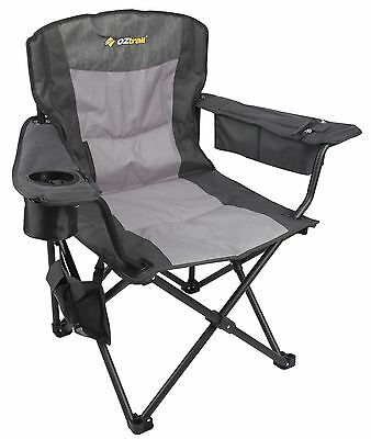 New 2 x Oz Trail thermal USB HEATED camping chairs FCH-BBT-A