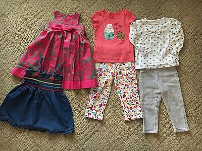 Lots of toddler girl clothes size 24 months -  2T