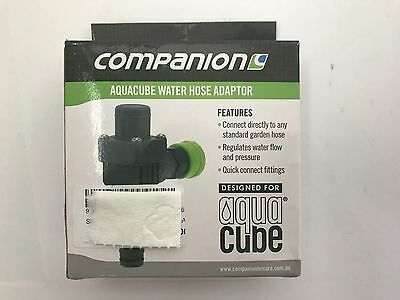New Companion AquaCube water hose adaptor