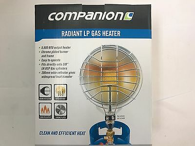 NewCompanion radiant LP gas camping & caravanning LPG heater