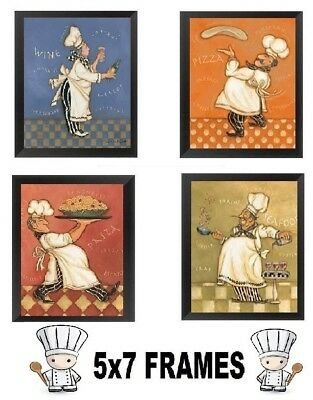 Chef Pictures Kitchen Cooking Servers Wall Hangings Chefs Waiters Cooks Plaques