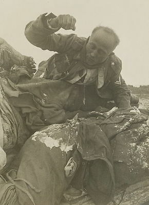 WWII Photo Frozen German Corpse Stalingrad Eastern Front World War Two  WW2