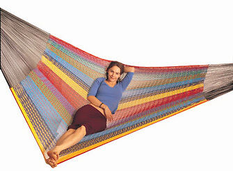 OZtrail Mexican Queen Hammock bed - FHB-MEXQ-B