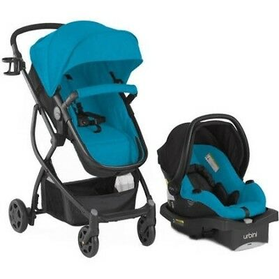 Baby 3in1 Travel System: Stroller, Car Seat, Buggy Bassinet