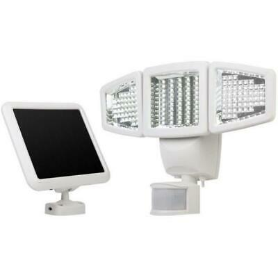 Sunforce 150 LED Triple Head Solar Powered Motion Activated 1000 Lms Flood Light