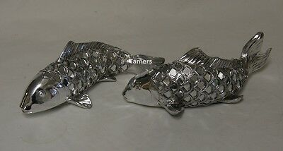 Silver Art Fish Model Ornament by Leonardo Brand New in Box Fish Fishing Gift