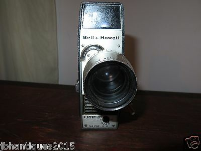 Bell and Howell Electric Eye Movie Camera Vintage