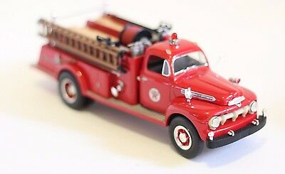 First Gear 1951 Ford Pumper 1/34 Scale Die-Cast Metal Texaco Fire Chief Truck