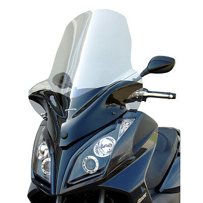 Windschutz Exclusive Kymco Downtown 125 V21 09-15