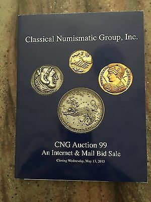 CNG Printed Auction 99 Ancient Greek / Roman Coin Catalog