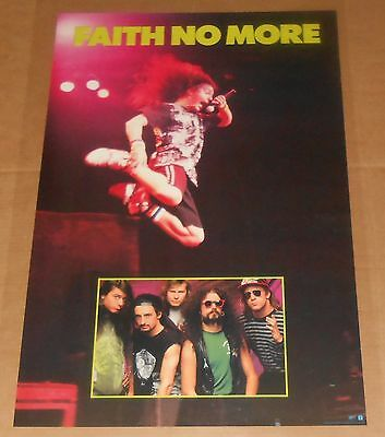 Faith No More Poster Original 1990 Promo 35x23